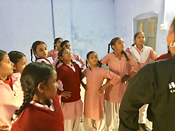 Teaching Self-Defense and Self-Empowerment to Middle School Girls in India