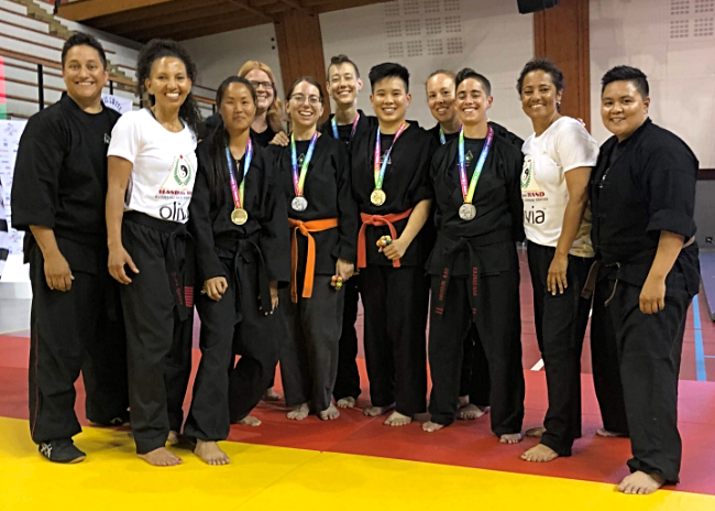 Hand to Hand Kajukenbo team at Gay Games X in Paris